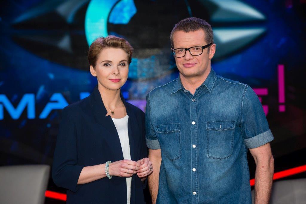 Marcin Meller i Anna Dziewitt